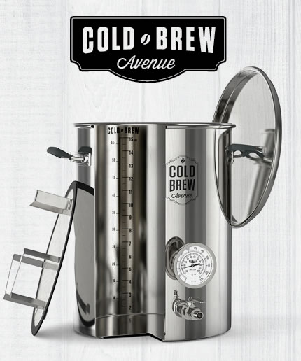 Drips & Draughts Sponsor - Cold Brew Avenue